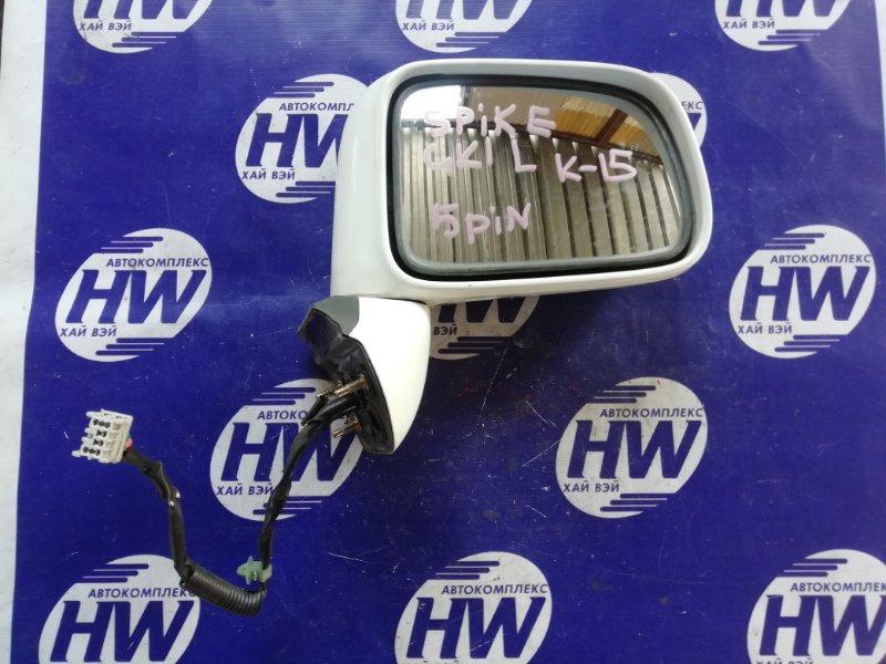 Зеркало Honda Mobilio Spike GK1 L15A правое (б/у)