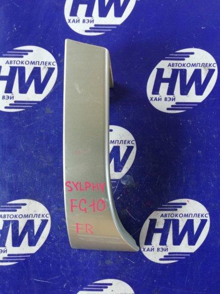 Планка под стоп Nissan Bluebird Sylphy FG10 QG15 правая (б/у)