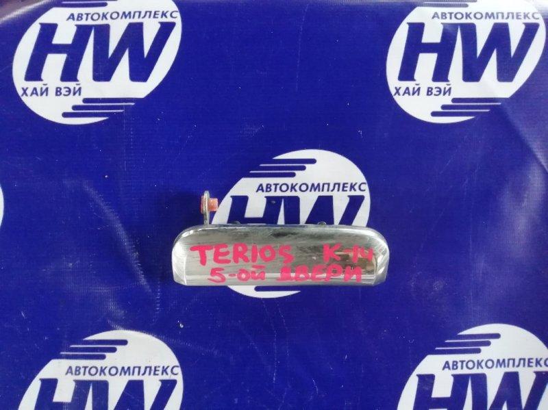 Ручка задней двери Daihatsu Terios Kid J131G EF (б/у)