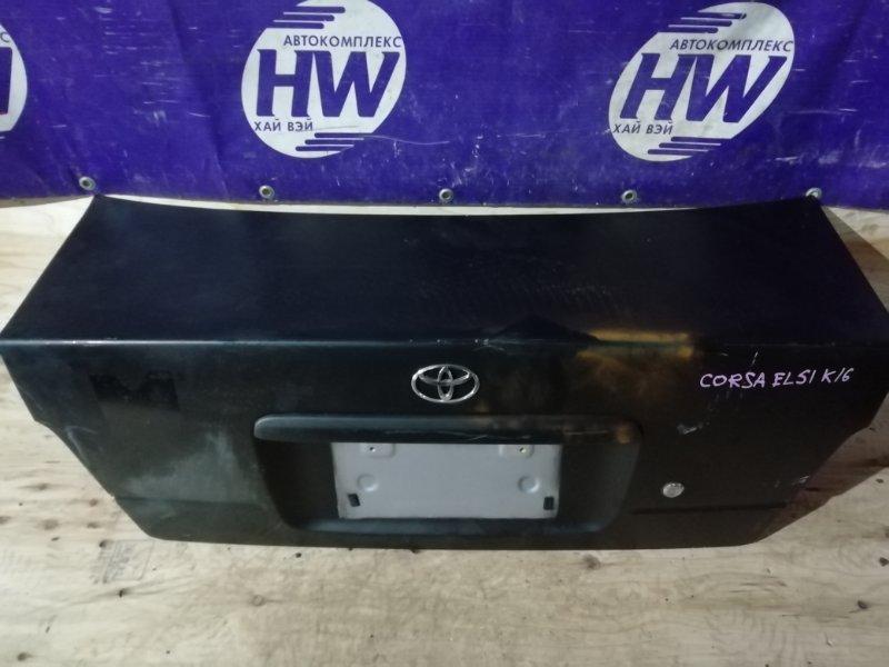 Крышка багажника Toyota Corsa EL51 4E (б/у)