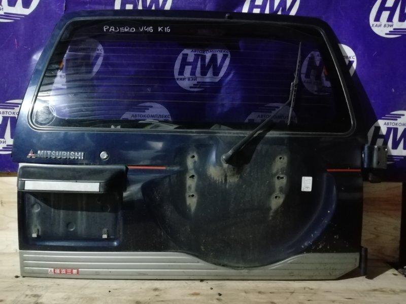 Дверь 5-я Mitsubishi Pajero V46W 4M40 1996 (б/у)