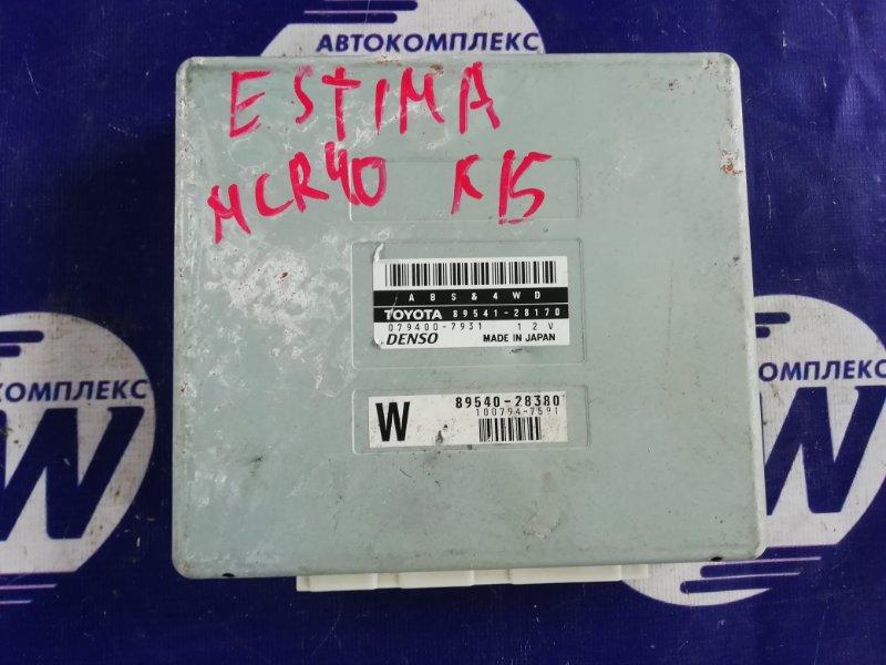 Блок управления abs Toyota Estima MCR40 1MZ (б/у)