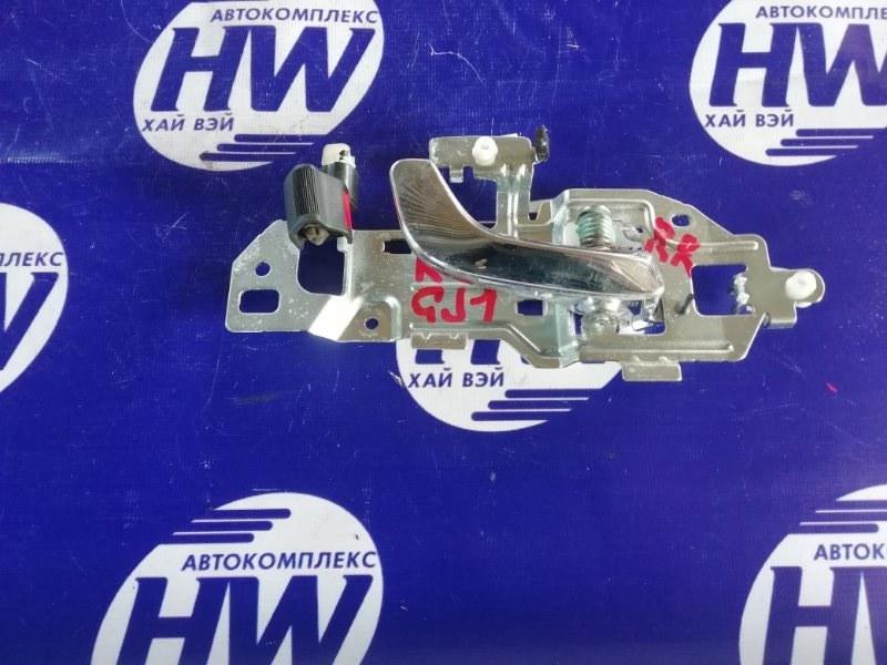 Ручка двери внутренняя Honda Airwave GJ1 L15A задняя правая (б/у)