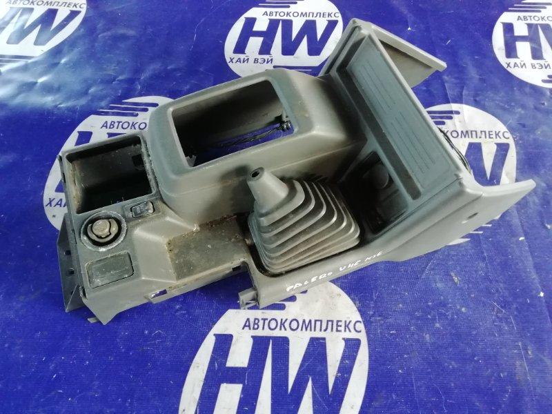 Консоль акпп Mitsubishi Pajero V46W 4M40 1996 (б/у)