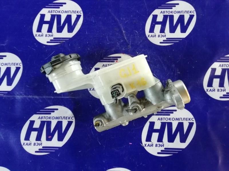 Главный тормозной цилиндр Honda Airwave GJ1 L15A (б/у)