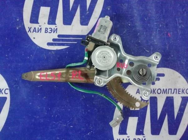 Стеклоподъемник Toyota Corsa EL51 4E задний левый (б/у)
