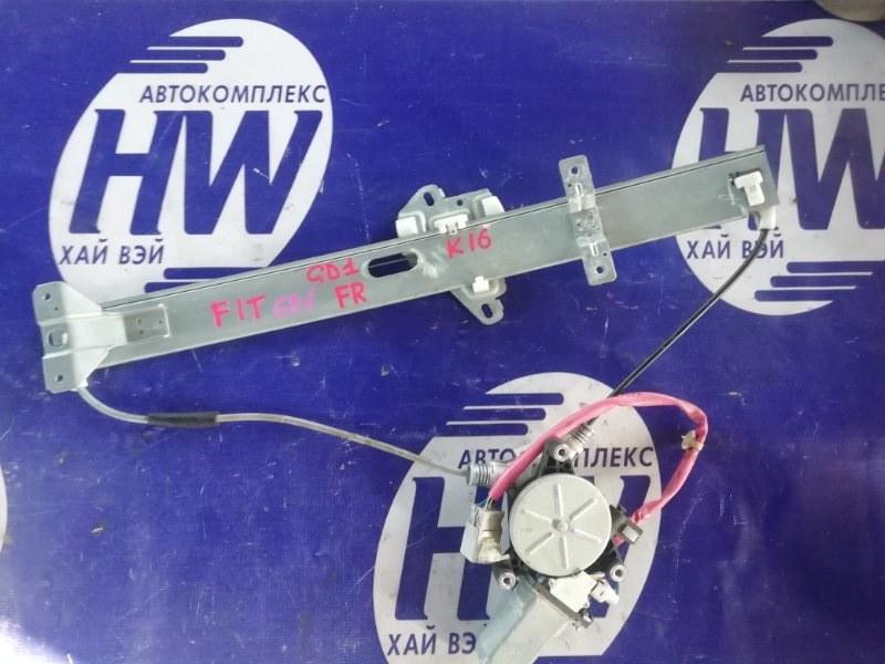 Стеклоподъемник Honda Fit GD1 L13A 2001 передний правый (б/у)