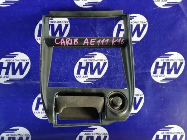 Консоль магнитофона Toyota Sprinter Carib AE111 4A 1997 (б/у)