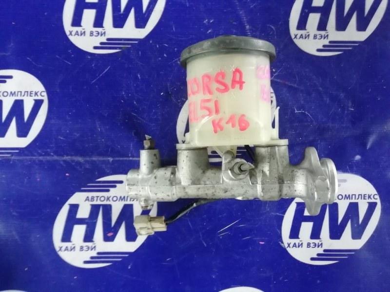 Главный тормозной цилиндр Toyota Corsa EL51 4E (б/у)