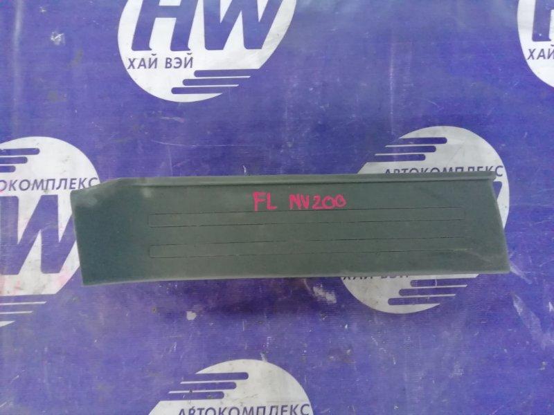 Порожек пластиковый Nissan Nv200 VM20 HR16 передний левый (б/у)