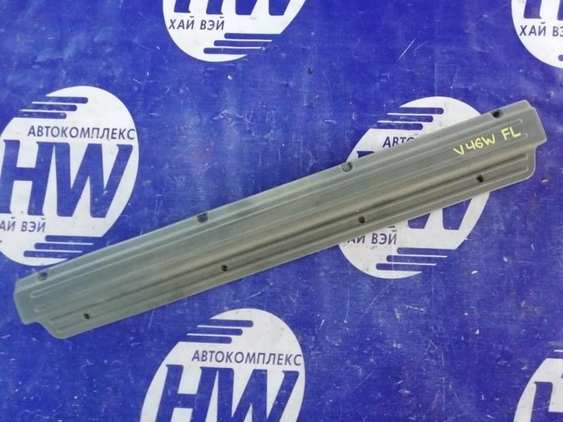 Порожек пластиковый Mitsubishi Pajero V46W 4M40 1996 передний левый (б/у)