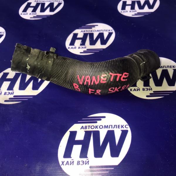 Патрубок радиатора Nissan Vanette SK82 F8 2001 верхний (б/у)