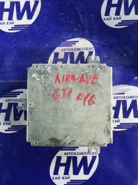 Компьютер двс Honda Airwave GJ1 L15A (б/у)