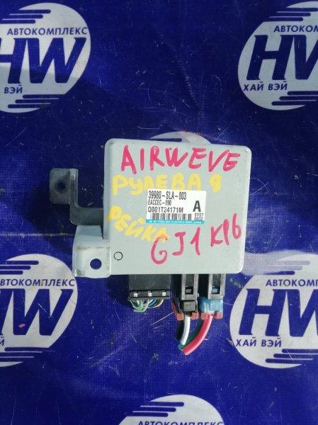 Блок управления рулевой рейкой Honda Airwave GJ1 L15A (б/у)