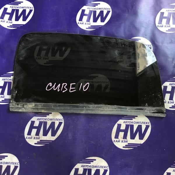 Стекло собачника Nissan Cube AZ10 CGA3 правое (б/у)