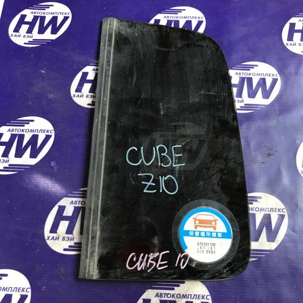 Стекло собачника Nissan Cube AZ10 CGA3 левое (б/у)
