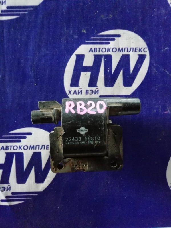 Катушка зажигания Nissan Laurel HC34 RB20E (б/у)