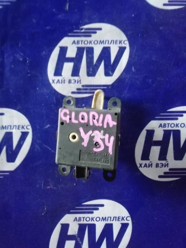 Моторчик привода заслонок печки Nissan Gloria MY34 VQ30DET (б/у)