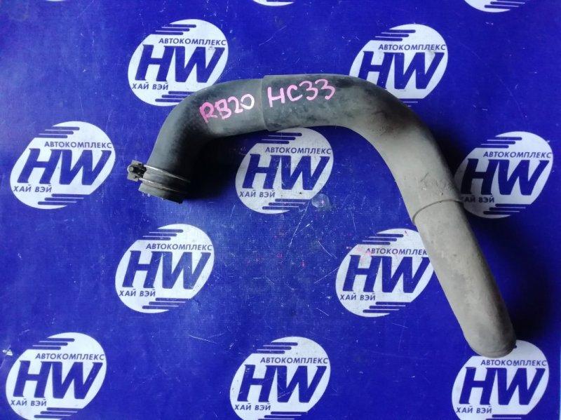 Патрубок радиатора Nissan Laurel HC33 RB20E (б/у)