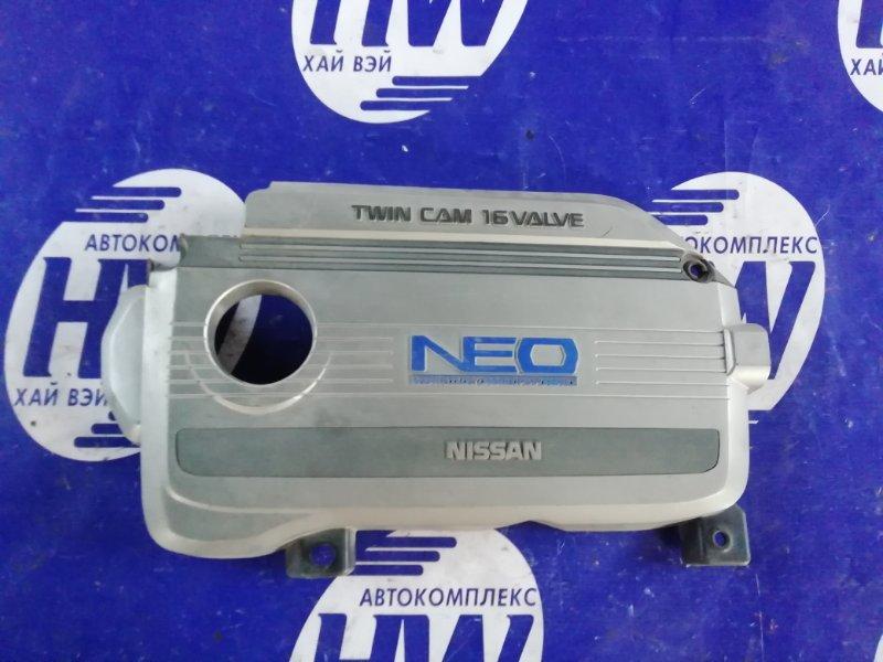 Декоративная крышка двс Nissan Sunny FB15 QG15 (б/у)