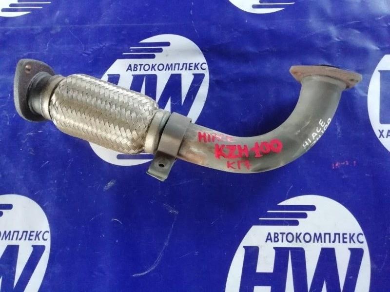 Глушитель Toyota Hiace KZH100 1KZ (б/у)