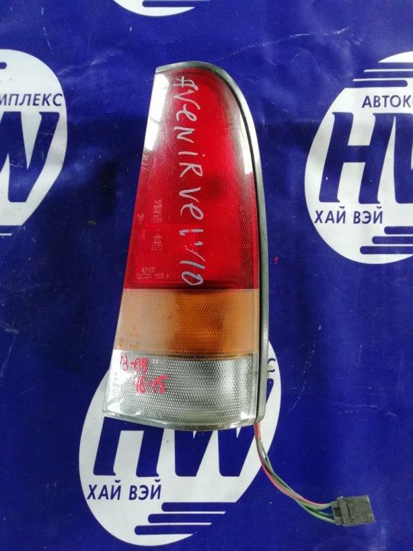 Стоп Nissan Avenir PW10 правый (б/у)