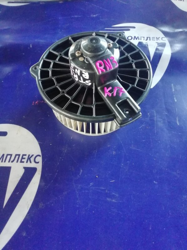 Мотор печки Honda Stream RN3 K20A (б/у)