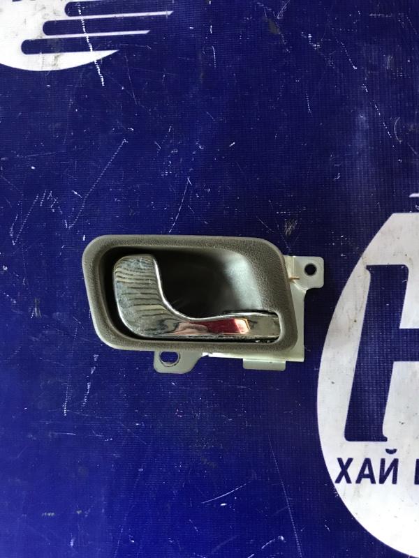 Ручка двери внутренняя Mitsubishi Pajero V44 4D56 задняя правая (б/у)