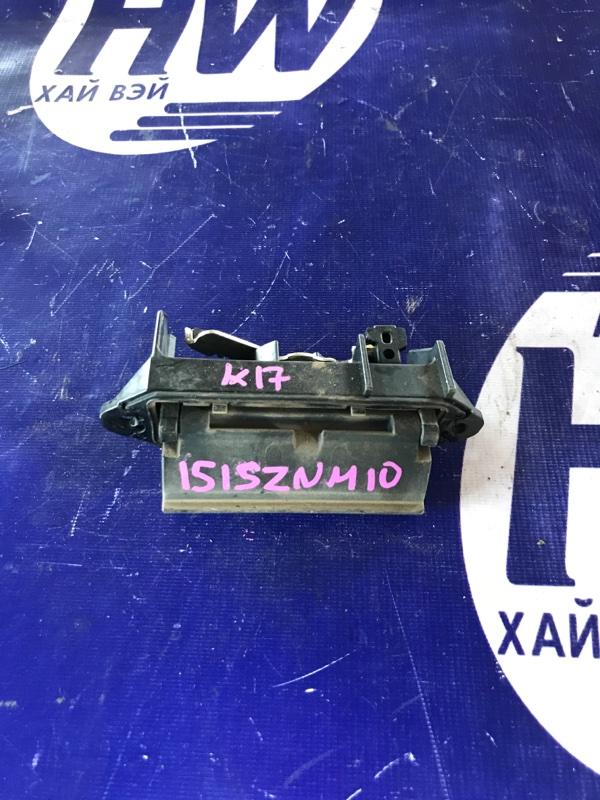 Ручка задней двери Toyota Isis ZNM10 1ZZ (б/у)