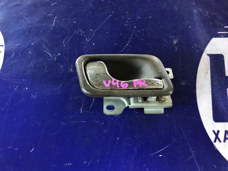 Ручка двери внутренняя Mitsubishi Pajero V46W 4M40 1996 передняя правая (б/у)