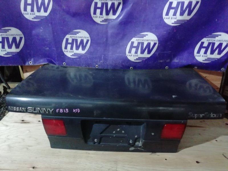 Крышка багажника Nissan Sunny FB13 GA15DS (б/у)