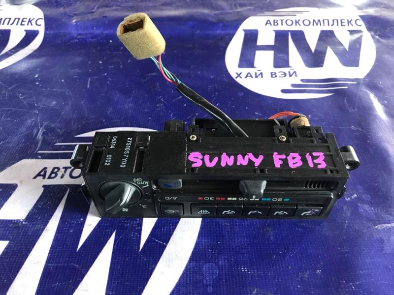 Климат-контроль Nissan Sunny FB13 GA15DS (б/у)