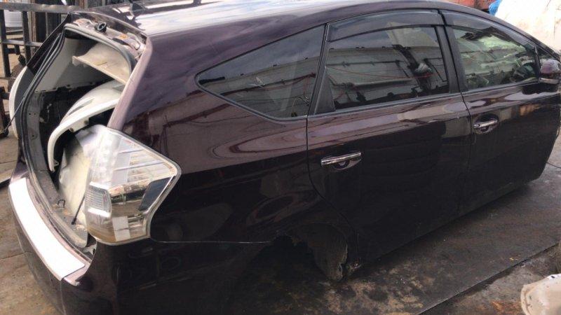 Дверь Toyota Prius Alpha ZVW41 2ZRFXE задняя правая (б/у)