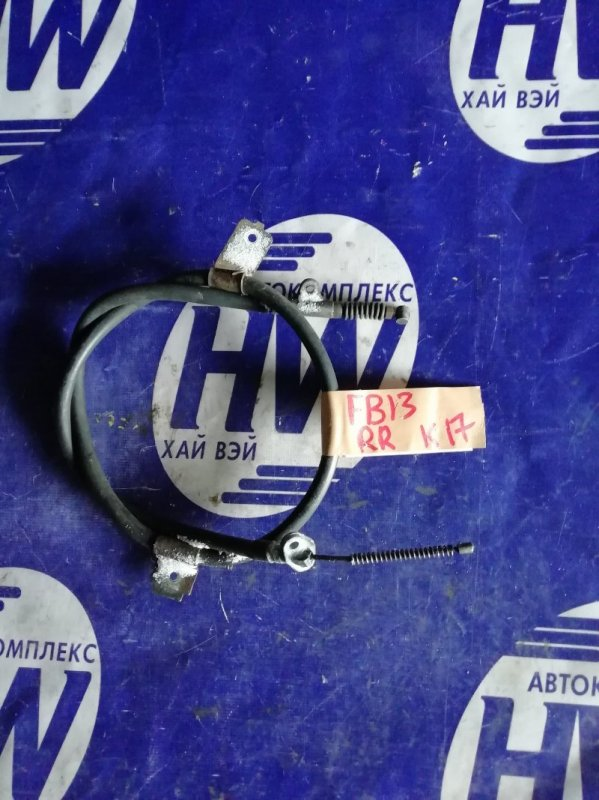 Трос ручника Nissan Sunny FB13 GA15DS задний правый (б/у)