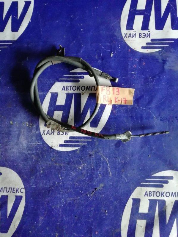 Трос ручника Nissan Sunny FB13 GA15DS задний левый (б/у)
