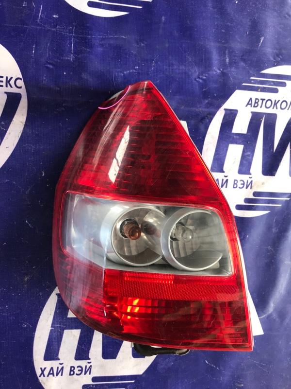 Стоп Honda Fit GD1 L13A 2001 левый (б/у)