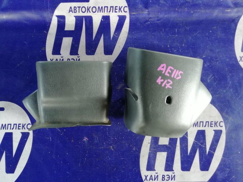 Кожух рулевой колонки Toyota Sprinter Carib AE115 7A 1997 (б/у)