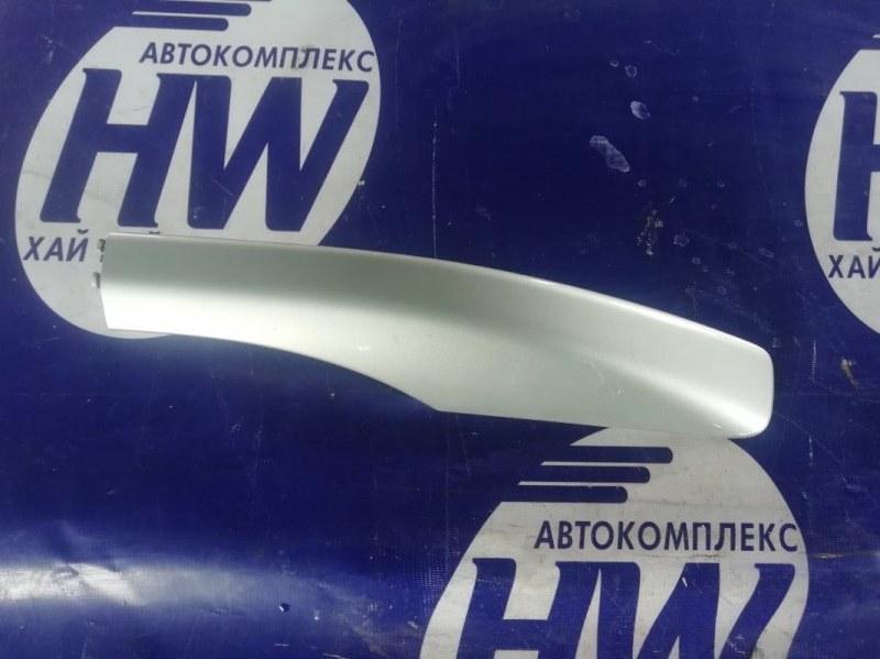 Крышка рейлинга Toyota Avensis AZT251 2AZFSE задняя левая (б/у)