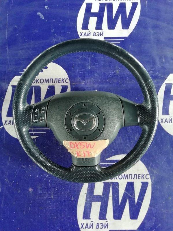 Руль Mazda Demio DY5W ZY (б/у)