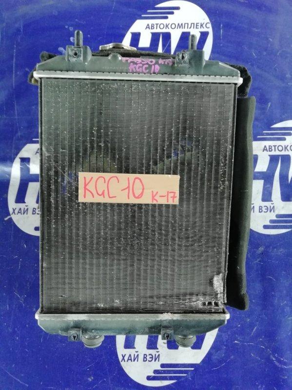 Радиатор Toyota Passo KGC10 1KR (б/у)