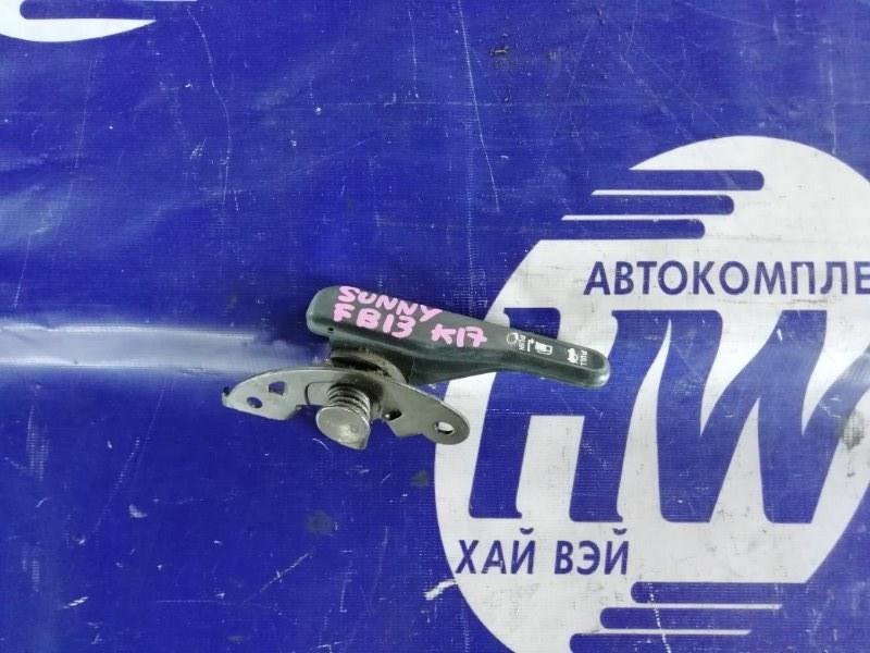 Ручка открывания бензобака Nissan Sunny FB13 GA15DS (б/у)