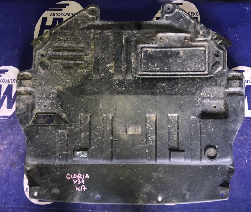 Защита двигателя Nissan Gloria HY34 VQ30 (б/у)