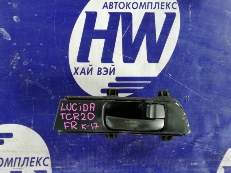 Ручка двери внутренняя Toyota Lucida TCR20 2TZ передняя правая (б/у)
