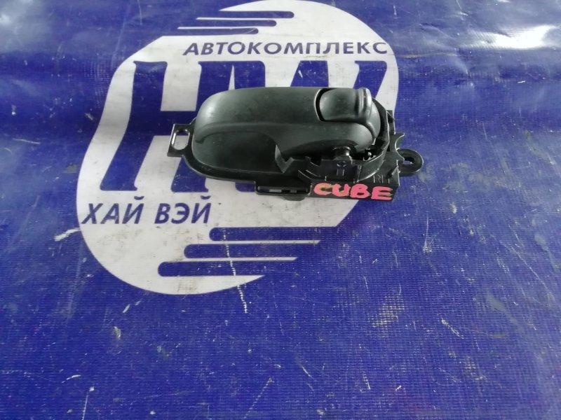 Ручка двери внутренняя Nissan Cube BZ11 CR12 задняя правая (б/у)