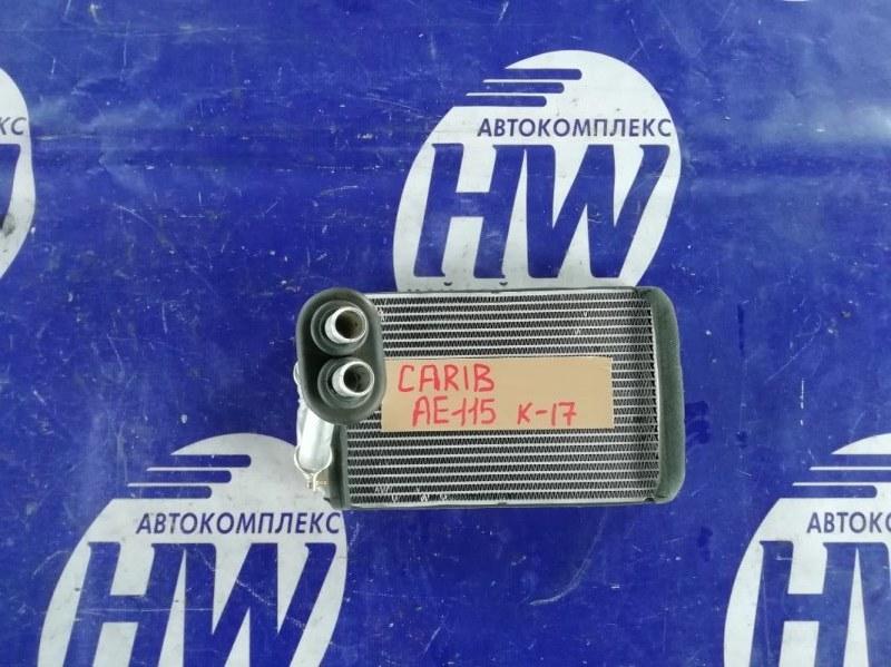 Радиатор печки Toyota Sprinter Carib AE115 7A 1997 (б/у)
