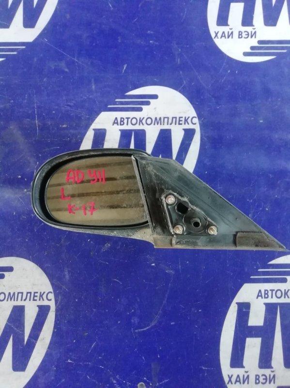Зеркало Nissan Ad VFY11 QG13 2000 левое (б/у)