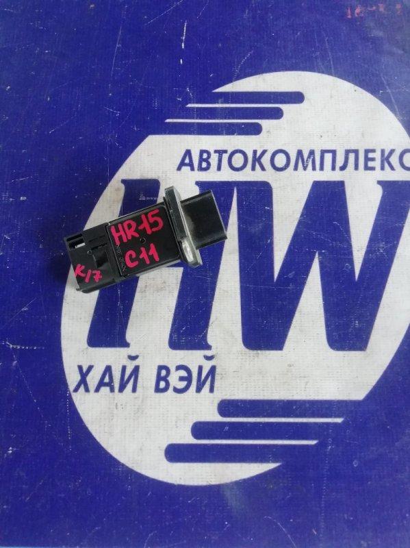 Датчик расхода воздуха Nissan Tiida C11 HR15 (б/у)