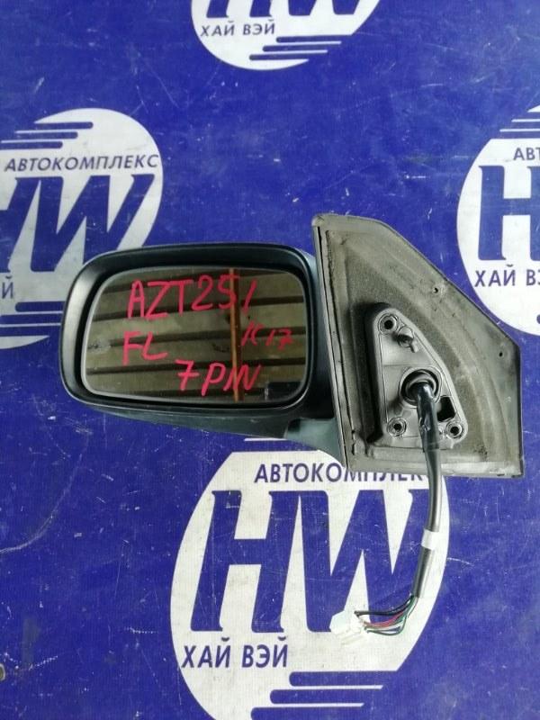 Зеркало Toyota Avensis AZT251 2AZ левое (б/у)