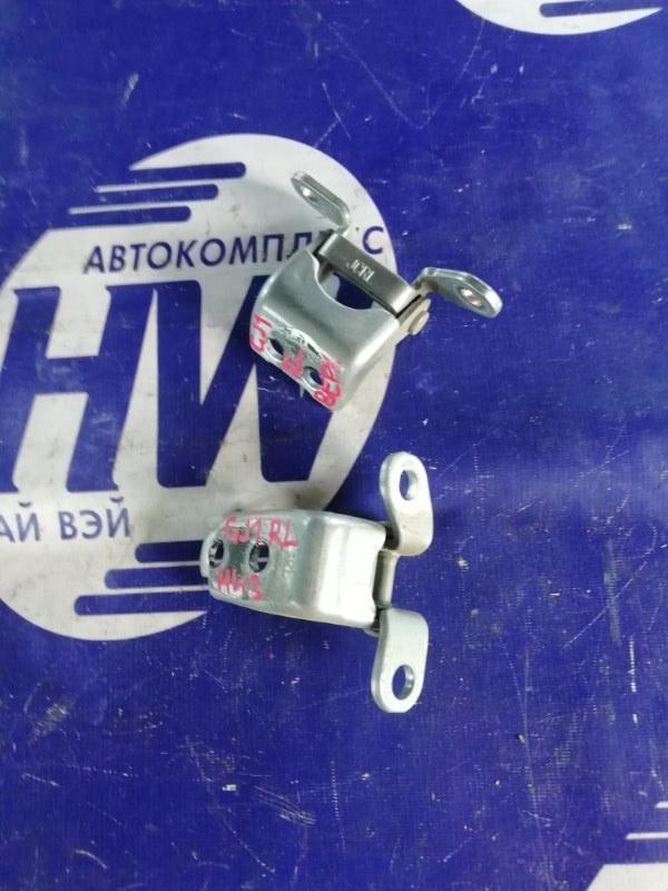 Петля дверная Honda Airwave GJ1 L15A задняя левая (б/у)