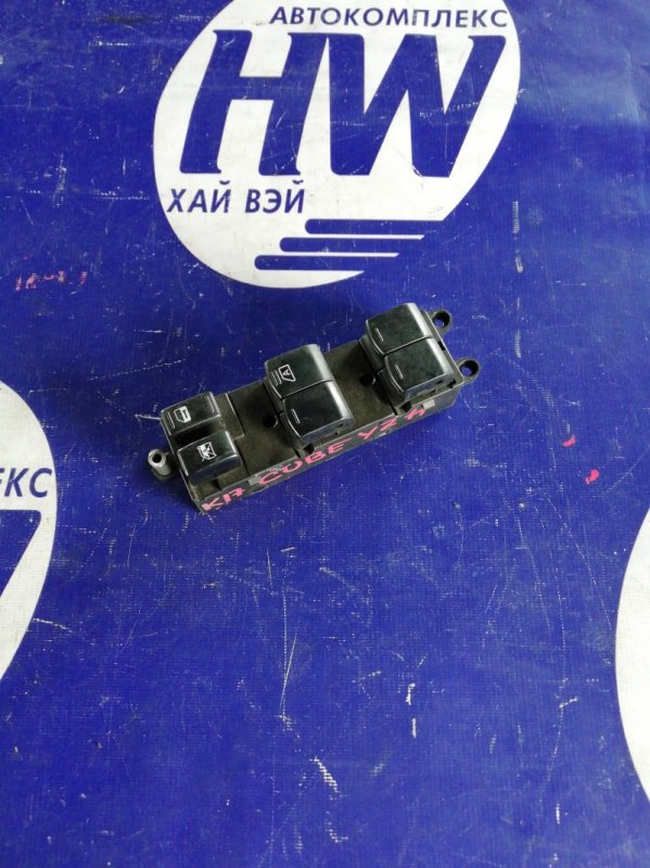 Блок упр. стеклоподъемниками Nissan Cube BZ11 CR12 передний правый (б/у)